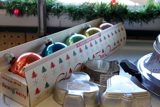 box shiny brite ornament tin molds