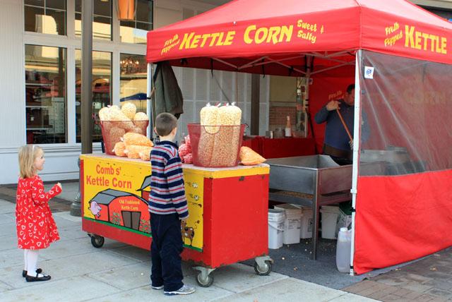 christmas kettle corn