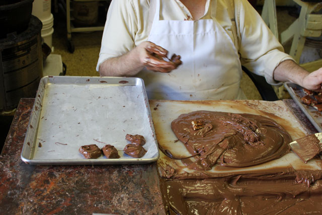 kirby dip chocolate turtles