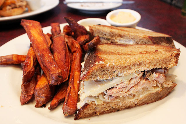 dexter turkey reuben at zingerman's