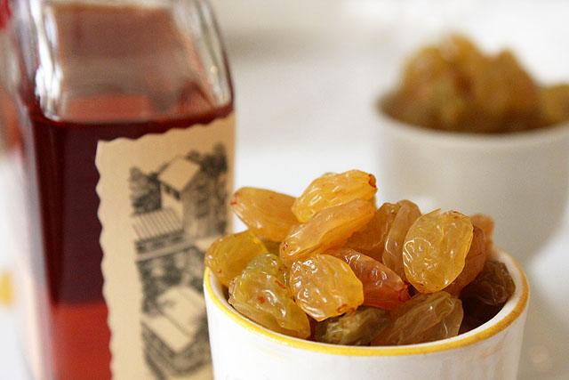 x bourbon and golden raisin cup