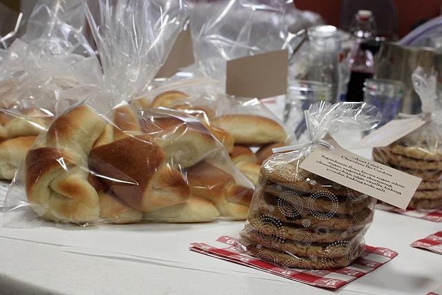 rolls cookies