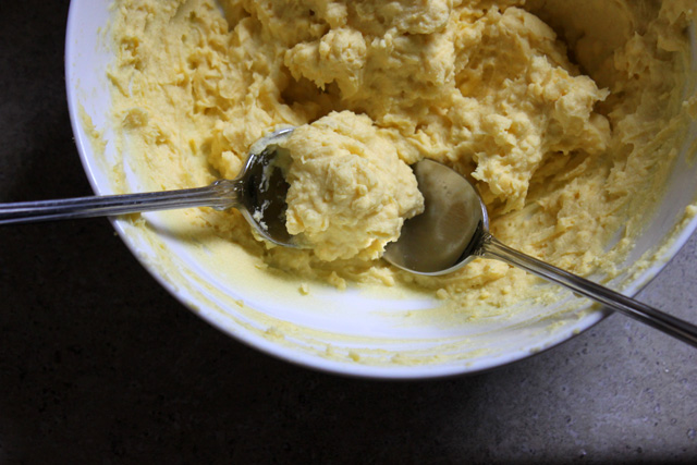 deviled egg filling two teaspoons