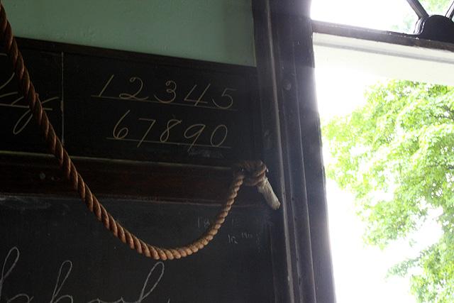 10 collins schoolhouse numbers blackboard