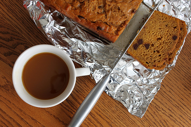 11 cider pumpkin spice bread
