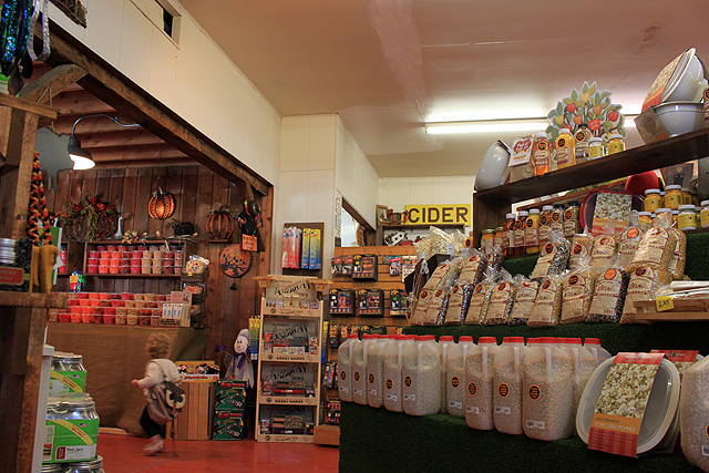 6 stuckey store popcorn jugs