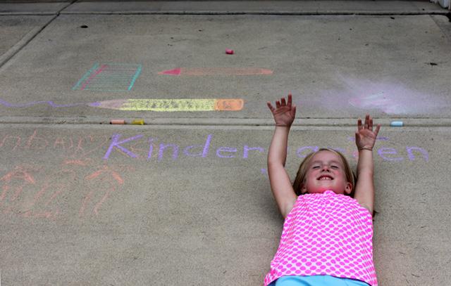 kindergarten hands up 2