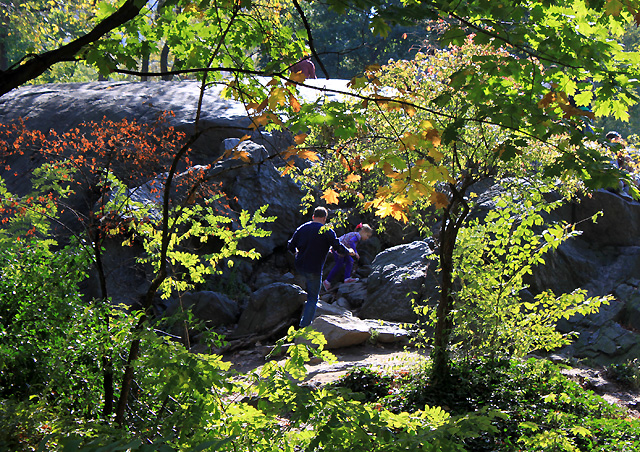 14 nyc october 2014 central park south climb rock