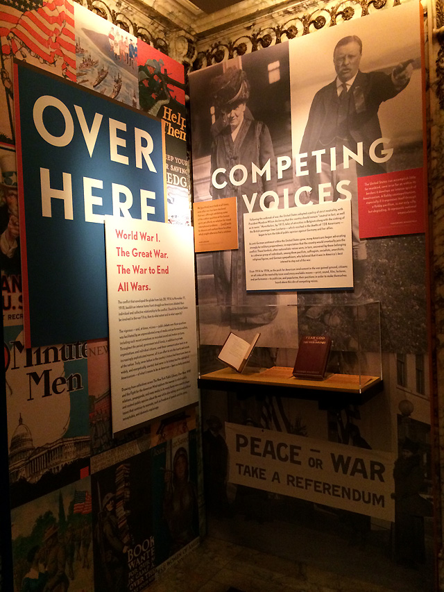 4 over here competing voices nypl world war 1 exhibition