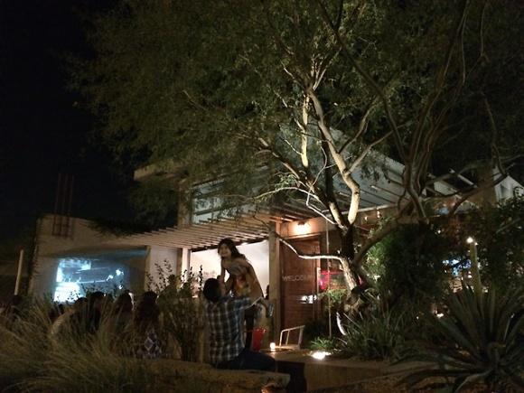 st. francis restaurant at night