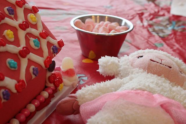 1.5 lamby pink house
