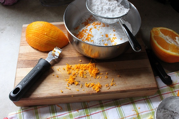 carrot cookies 075 glaze orange zest