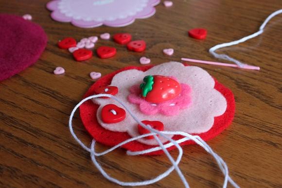 Strawberry Cupcake Sewing