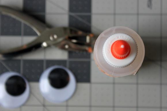 Google Eyes Hole Punch Craft Glue