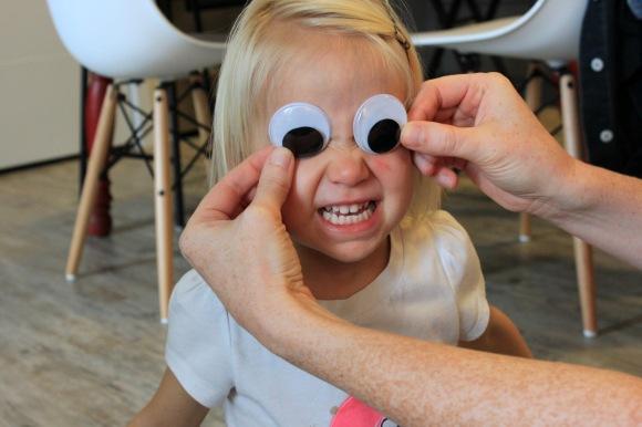 Google Eyes Teeth Smile